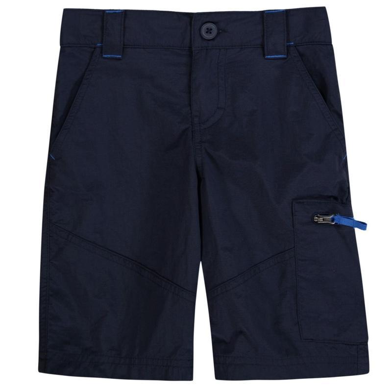Kraťasy Columbia Silver Shorts Junior Boys Collegiate Navy