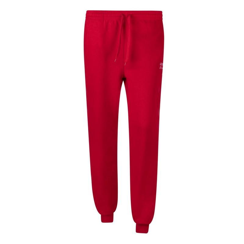 Sportovní kalhoty Lee Cooper Rib Jogger Ladies Red