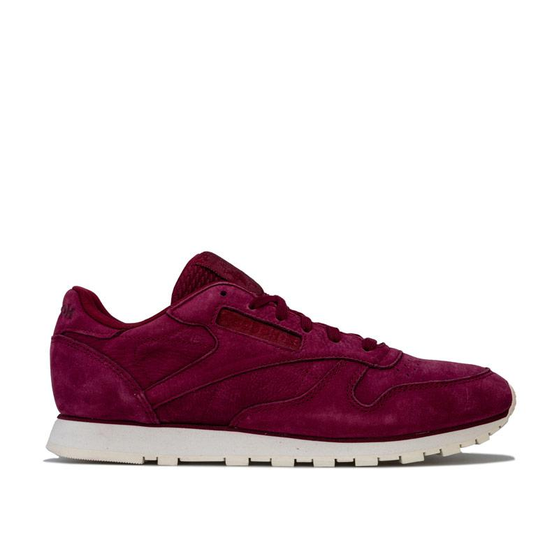 Reebok Classics Womens Classic Leather Trainers wine