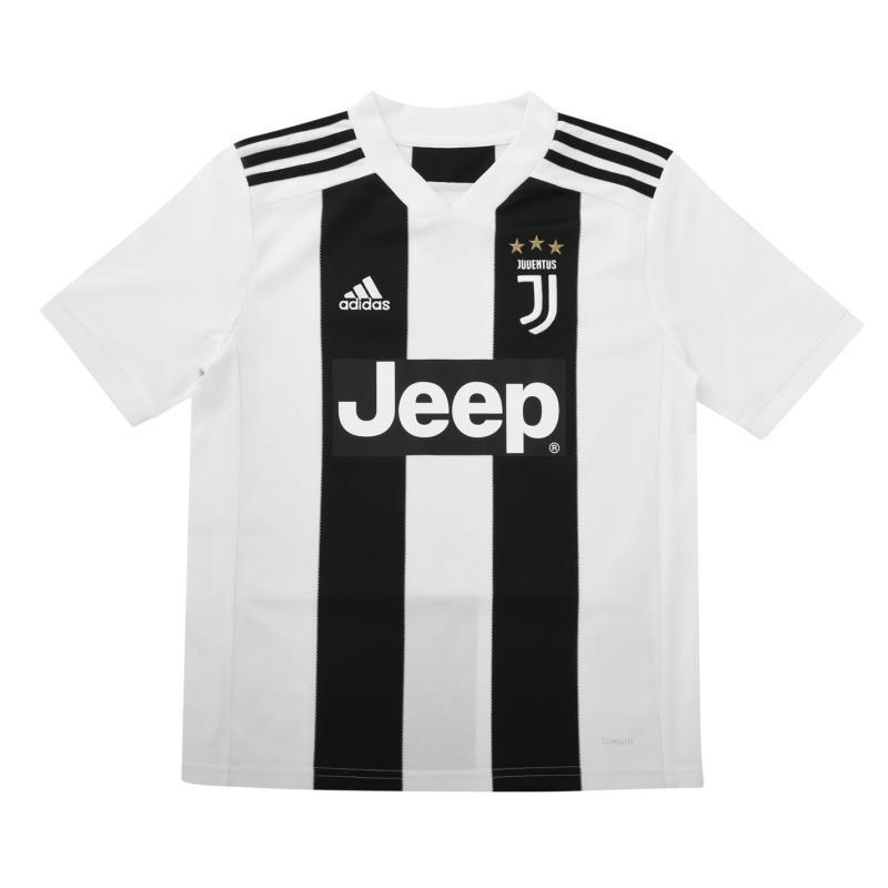 Adidas Juventus Home Jersey Junior's Black/White