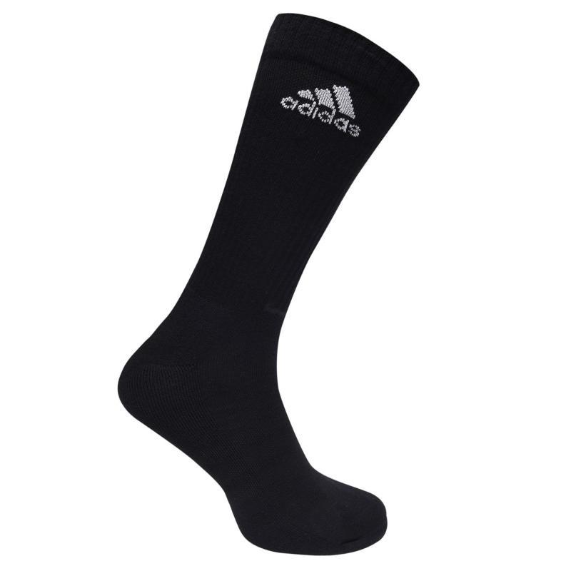 Ponožky adidas 3s Ess Crew Sock Sn54 Black