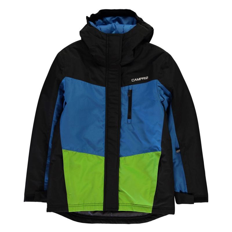 Bunda Campri Ski Jacket Junior Boys Black/Blue