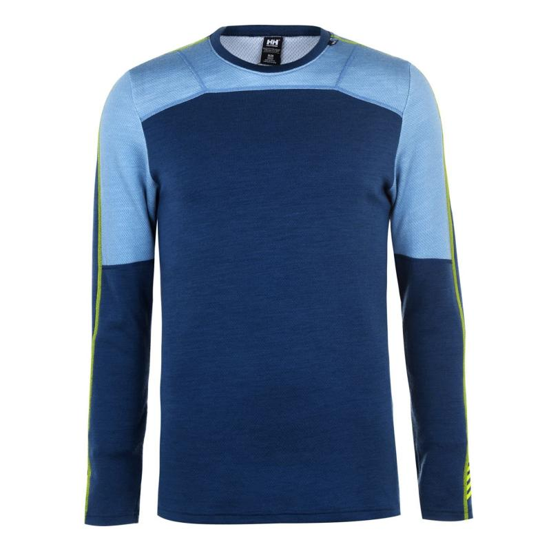Helly Hansen Merino Crew Neck Top Petrol