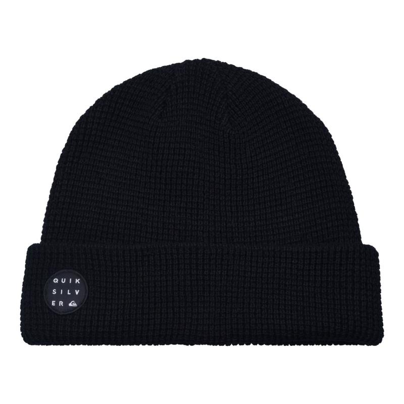 Quiksilver Mid Weight Knitted Beanie Mens Black