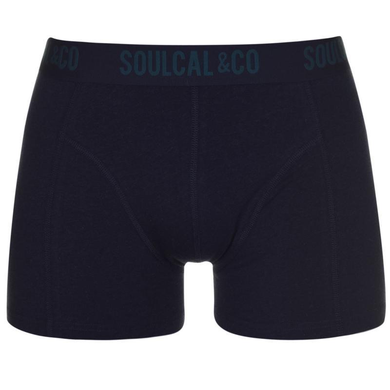 Spodní prádlo SoulCal 2 Pack Boxers Indigo/Stripe