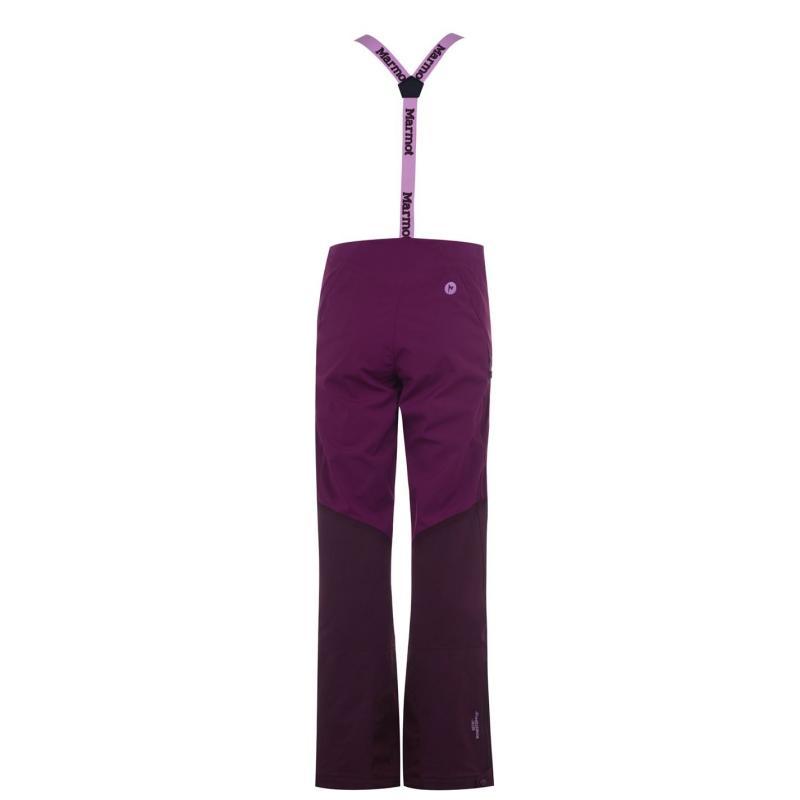 Marmot Pro Tour Ski Trousers Ladies Purple
