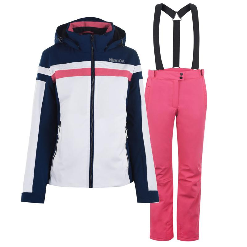 Nevica Nancy Ski Suit Ladies Blue/Pink