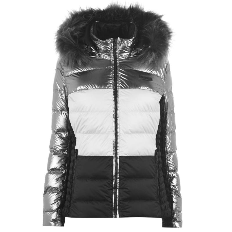 Nevica Stacey Ski Jacket Ladies Black/Silver