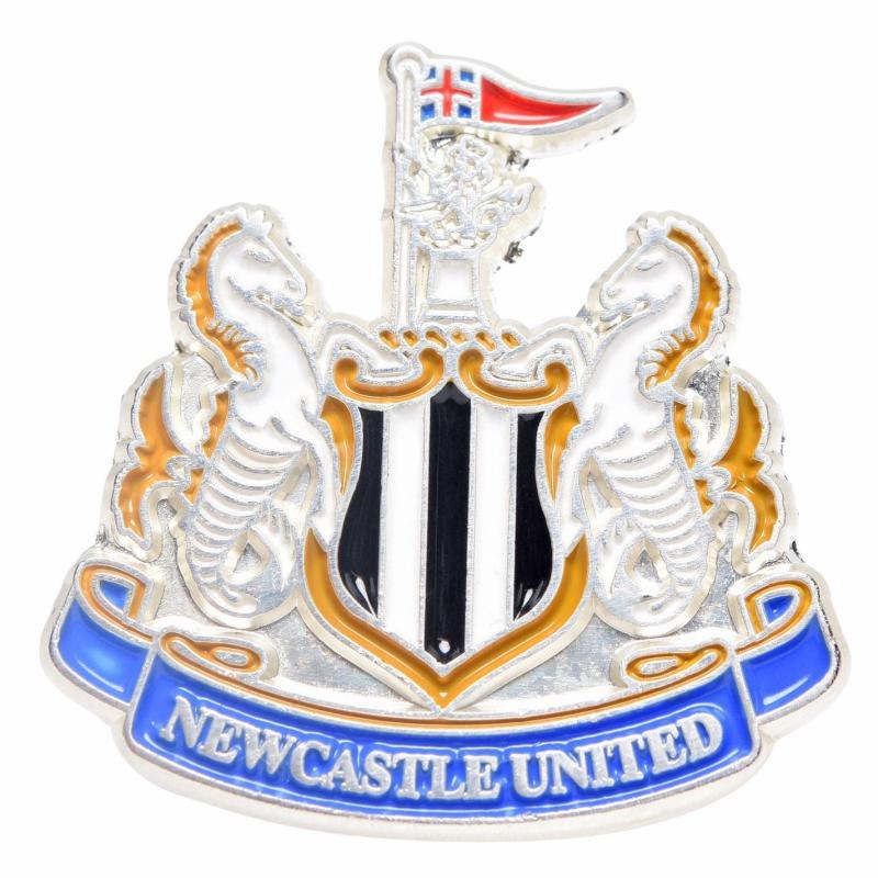 NUFC Crest Pin Badge Multi