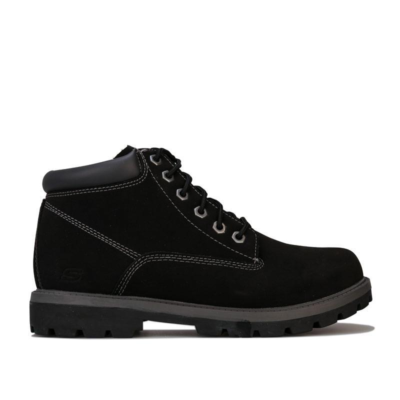 Boty Skechers Mens Toric Amado Boots Black