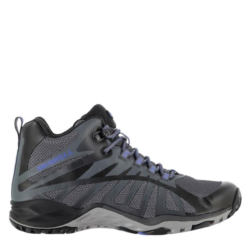 Boty Merrell Siren Edge Q2 Mid Waterproof Walking Shoes Womens Black