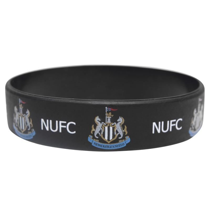 NUFC Silicone Wristband Black