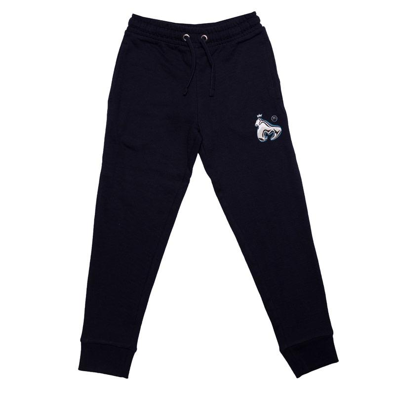Kalhoty Money Junior Boys Chrome Ape Jog Pants Navy