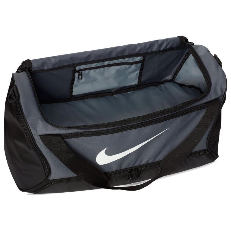 Nike Brasilia Medium Holdall Grey