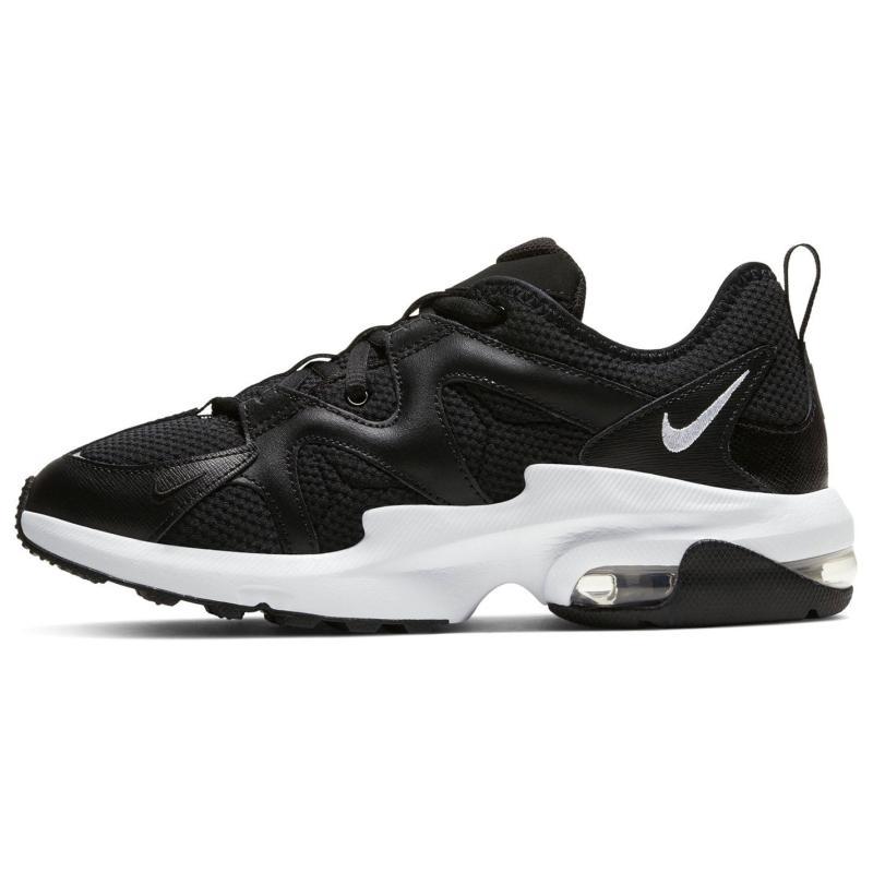 Nike Ladies Air Max Graviton Trainers Black/White