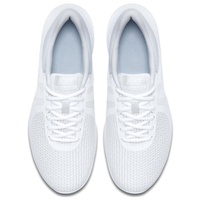 Nike Revolution 4 Women's Running Shoe WHITE/WOLF GREY-PURE PLATINUM