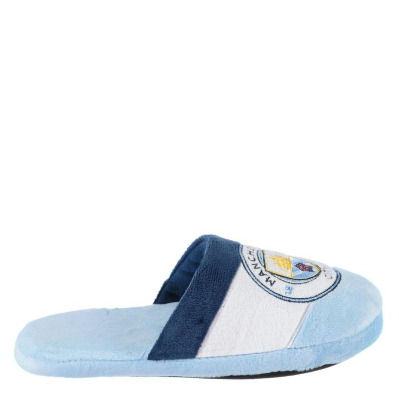 Team Crest Slippers Man City