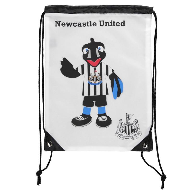 Team United Monty Magpie Gym Bag White/Black