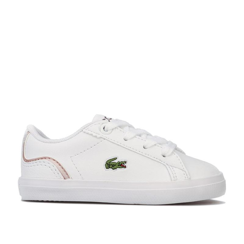 Lacoste Infant Girls Lerond 119 Trainers White pink