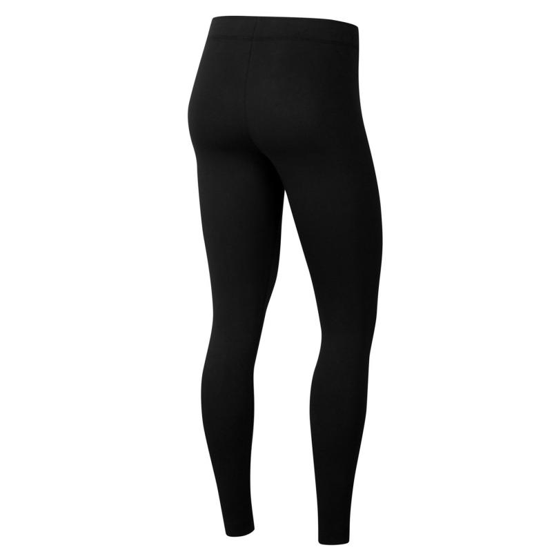 Legíny Nike Sportswear Club Women's Leggings BLACK/WHITE