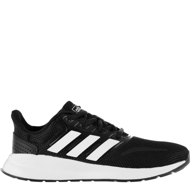 Boty adidas Falcon Childrens Trainers Black/White