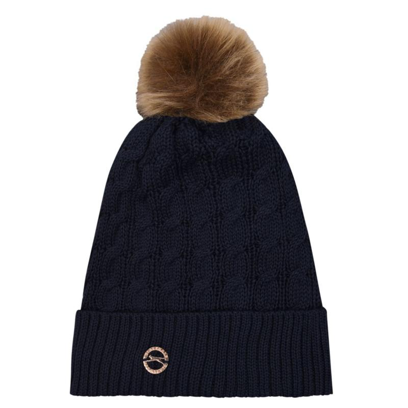 Slazenger Golf Knit Hat Womens Navy