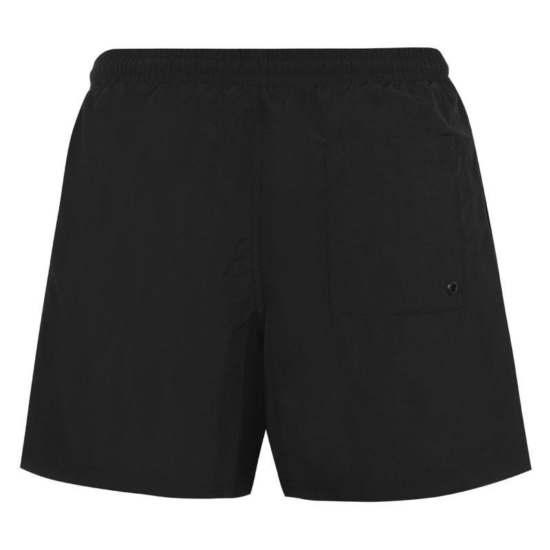 Plavky Slazenger Swim Shorts Mens Black