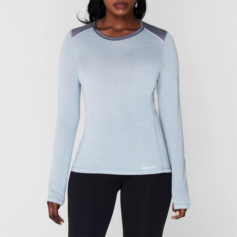 Tričko Sugoi Verve Long Sleeve T Shirt Grey