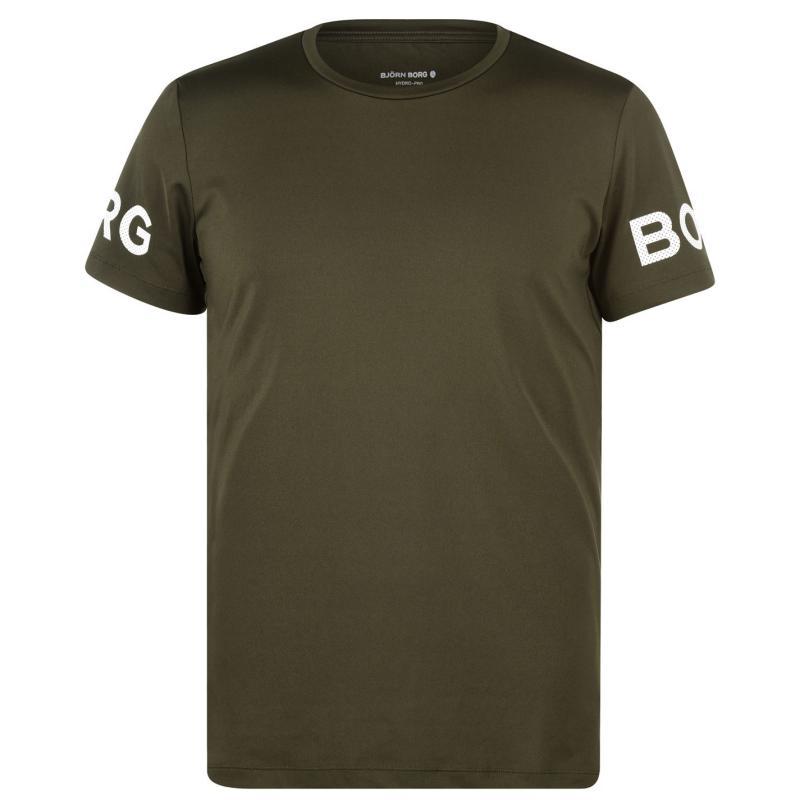 Tričko Bjorn Borg Logo T Shirt Forest 80901