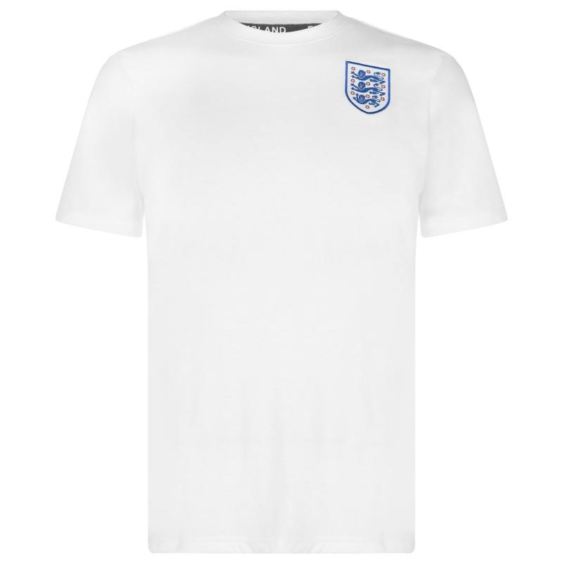 FA England Crest T Shirt Mens White