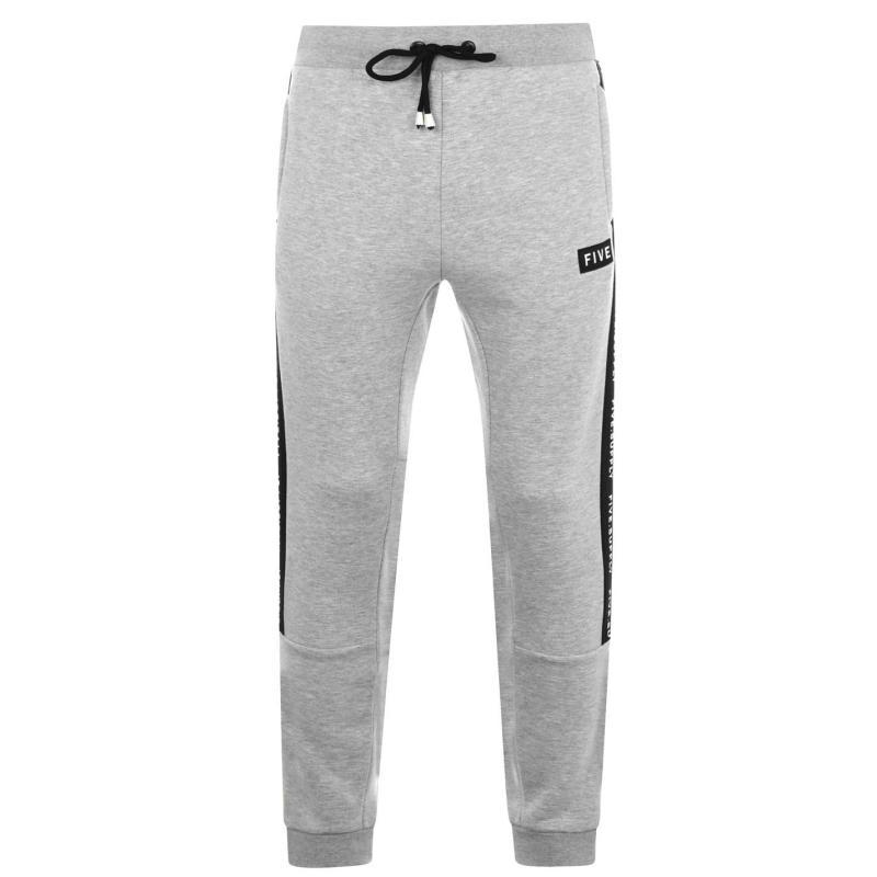 Tepláky Five Supply Jogging Pants Mens Grey Marl