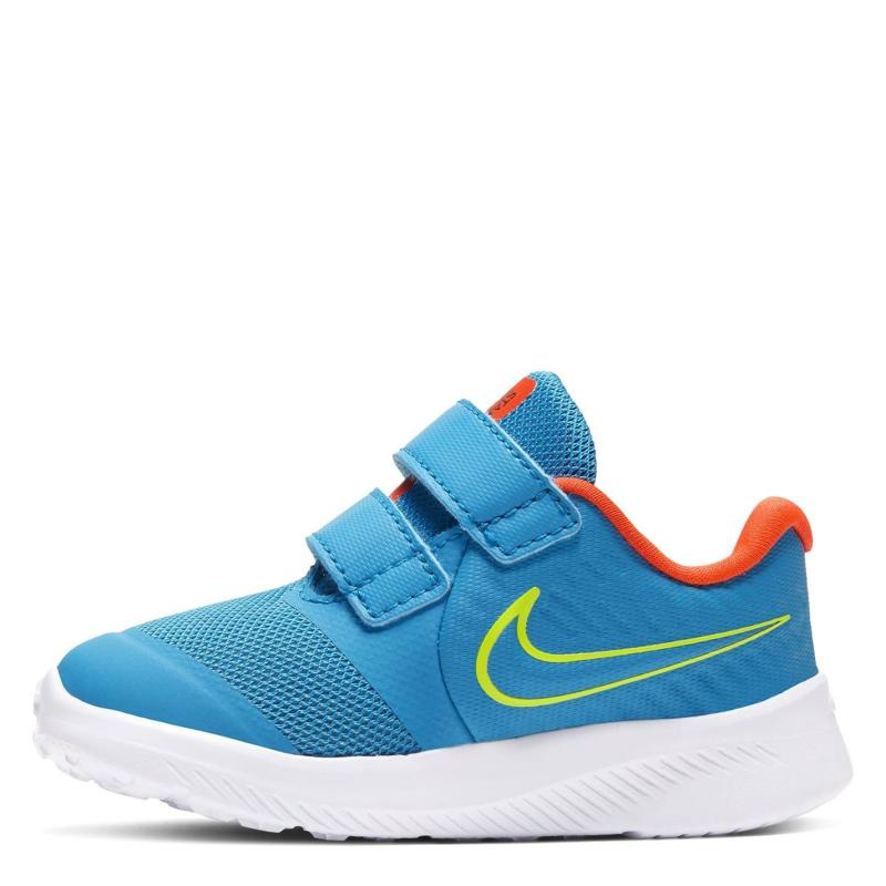 Boty Nike Star Runner 2 Baby/Toddler Shoe Blue/Lemon