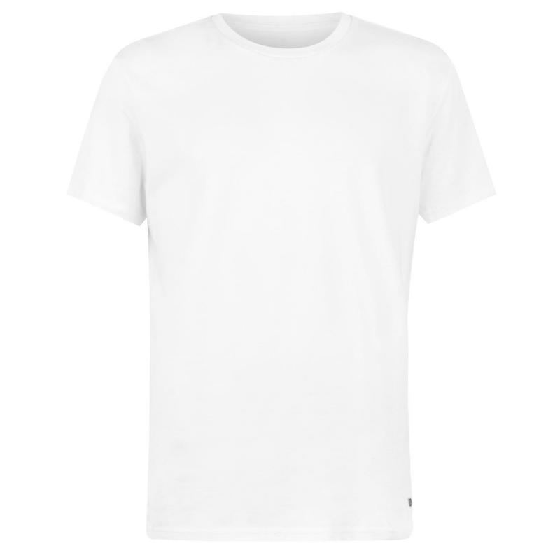 Tričko Verte Vallee Short Sleeve Basic T Shirt White