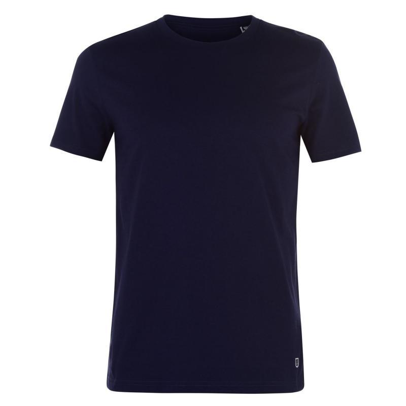 Tričko Verte Vallee Short Sleeve Basic T Shirt French Navy