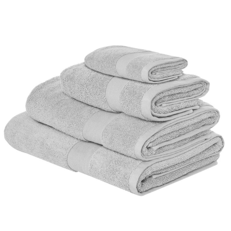 Hotel Collection Velvet Touch Bath Sheet Silver