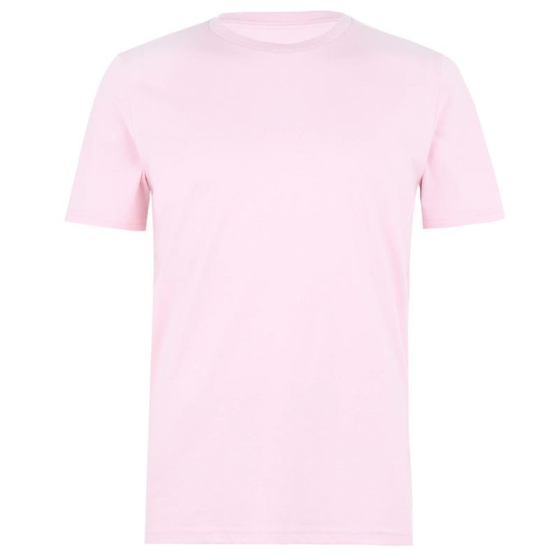 Tričko Verte Vallee Short Sleeve Basic T Shirt Cotton Pink