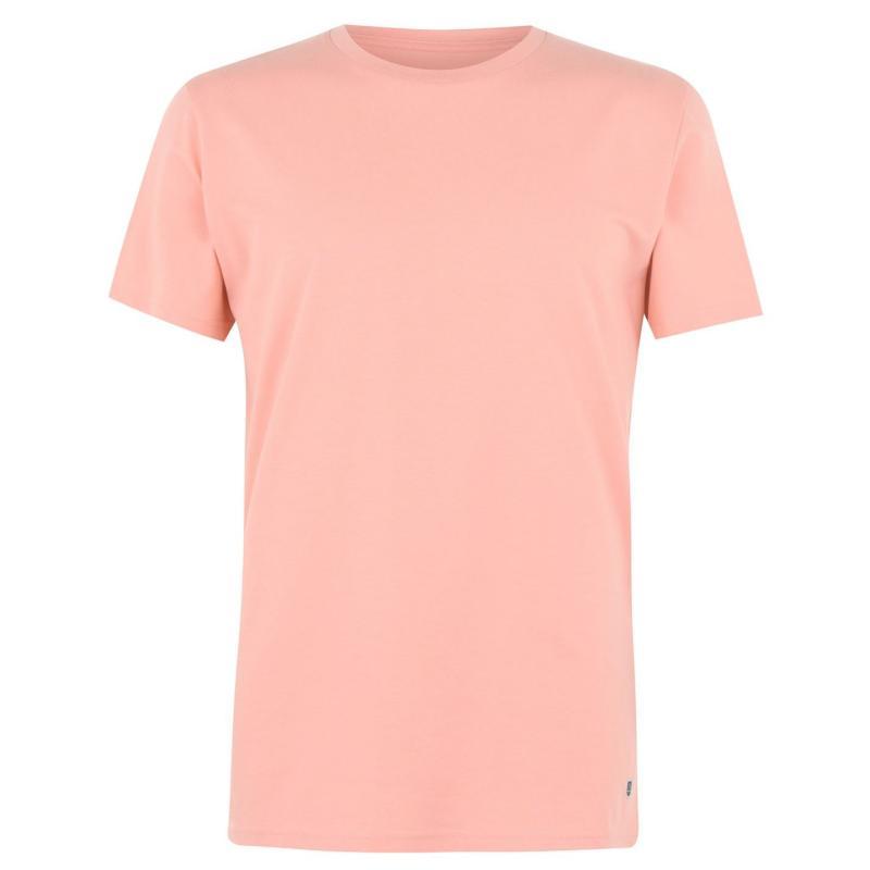 Tričko Verte Vallee Short Sleeve Basic T Shirt Sunset Orange