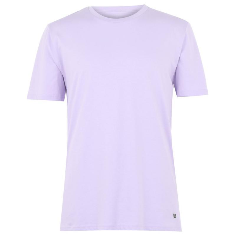 Tričko Verte Vallee Short Sleeve Basic T Shirt Lavender Dawn