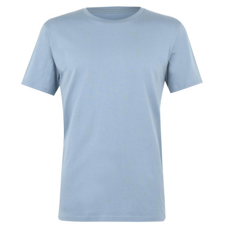 Tričko Verte Vallee Short Sleeve Basic T Shirt Citadel Blue