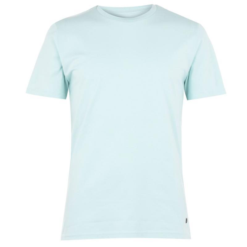 Tričko Verte Vallee Short Sleeve Basic T Shirt Carribean Blue