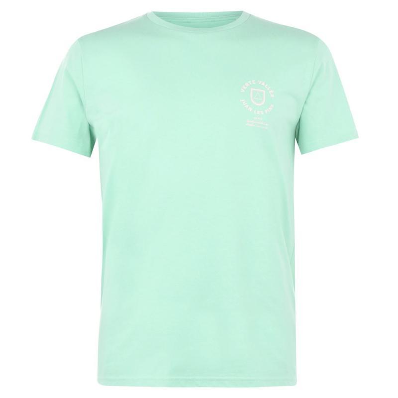 Tričko Verte Vallee Short Sleeve Print T Shirt Chameleon Grn