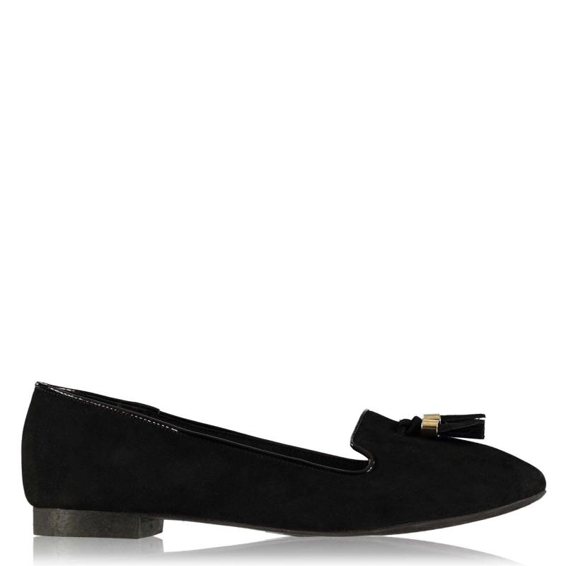 Obuv Label Lab Fringe Pumps Ladies Black