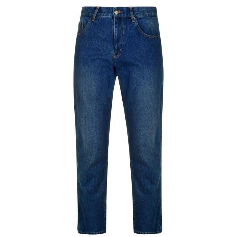 Pierre Cardin Regular Mens Jeans Mid Blue