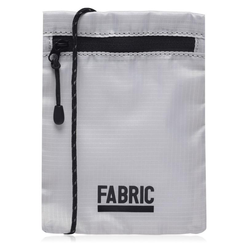Fabric Pouch Bag Grey