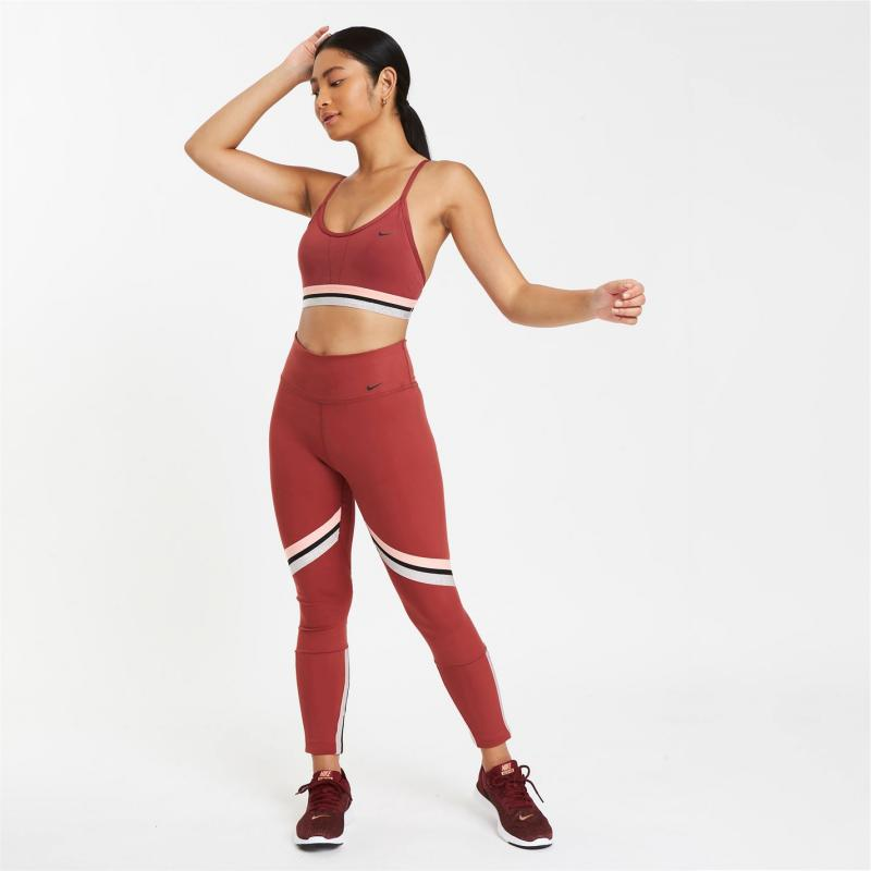 Nike One Icon Clash 7/8 Tights Ladies Red
