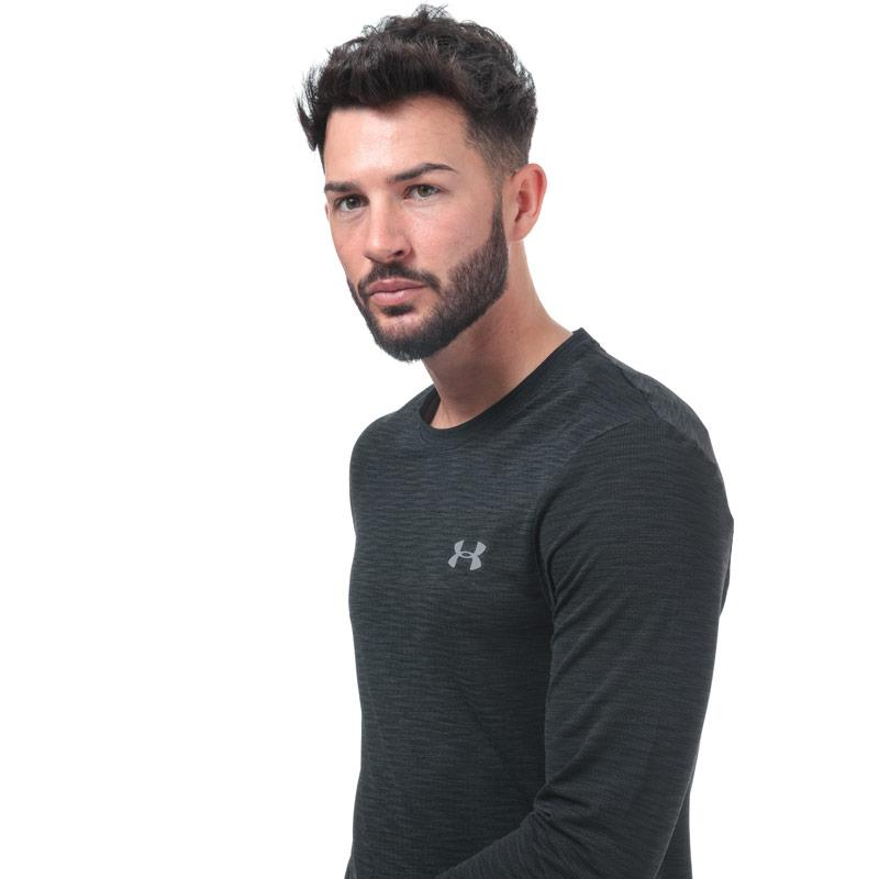 Under Armour Mens Vanish Seamless Long Sleeve T-Shirt Black