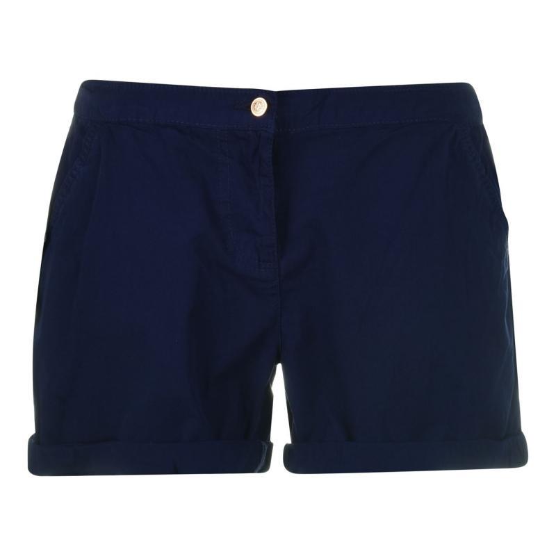 Rock and Rags Poplin Shorts Ladies Navy