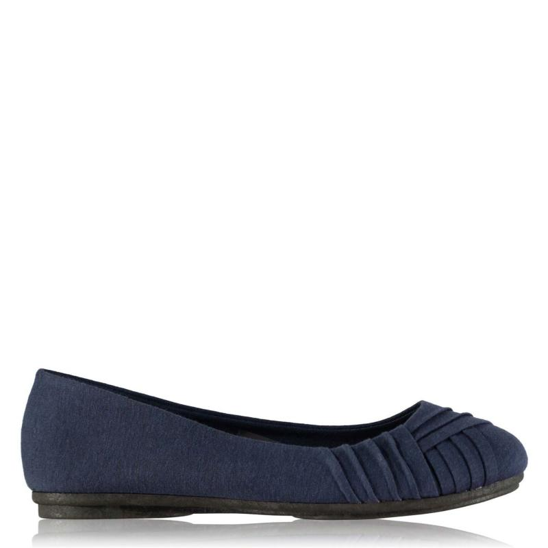 Obuv Label Lab Ballerina Pumps Ladies Navy