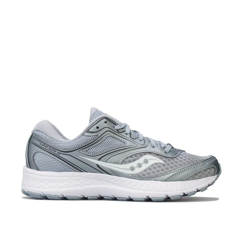 Saucony Womens Cohesion 12 Running Shoes Grey