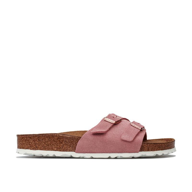 Boty Birkenstock Womens Vaduz Soft Footbed Sandals Narrow Width Rose
